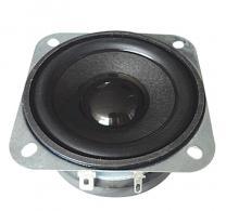 亮声LS66W-35-R8 2.5寸8欧10W动车语音播报设备全频扬声器8.94V