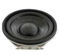 亮声LS50N-40-R8 50mm2寸8欧2W内磁橡胶边PP盆中低音扬声器4V